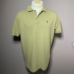 Desert olive green polo Ralph Lauren shirt L